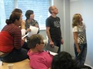 Photo of team in team building workshop
