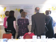 Photo of team in collaboration workshop