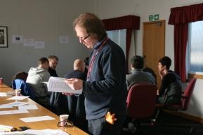 Drama-based learning actor